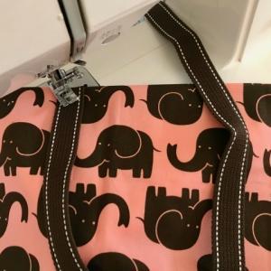 幼稚園入園準備!!袋物を全部「手作り」で節約...?