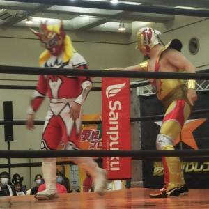愛媛プロレスビッグマッチ   デルフィンとライガー揃い踏み