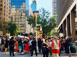 二番街のデモ