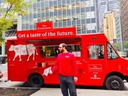 The Economistのフードトラック