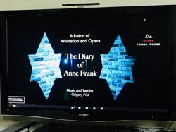 Zoomでオペラアニメ鑑賞「アンネの日記」