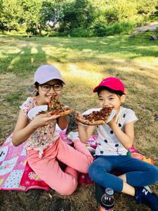 セントラルパークでピクニック
