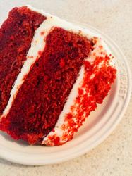 Make My Cakeのレッドベルベットケーキ