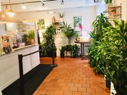 アッパーウエストサイドのお花屋さんカフェ