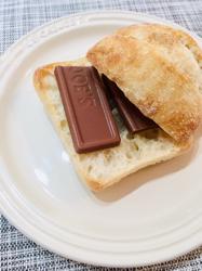 我が家の定番おやつ「バゲット・オ・ショコラ」