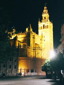 スペインDay7 「夜のセビージャをお散歩」