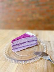 Lady Mの紫芋ミルクレープ