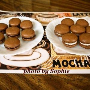 ココアマカロンクッキー(フィリング2種)のレシピ