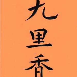 今日の漢字リクエスト2020-27  「九里香(きゅうりこう)」で なぞなぞする