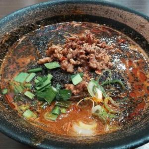 麵屋空海(品川グランパサージュ店)の黒胡麻担々麺