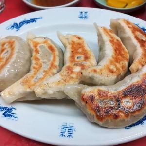 品川駅前の中華料理店・大元で餃子をいただきました