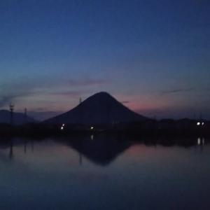 8月、30日と31回目の青の山ラン