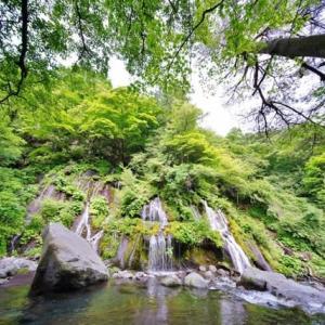 清里の吐竜の滝(2020.6.20 撮影)