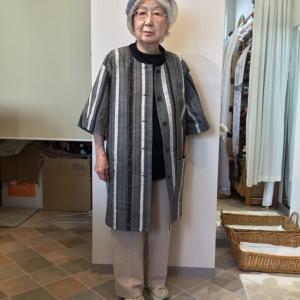 着物で作る洋服の可能性