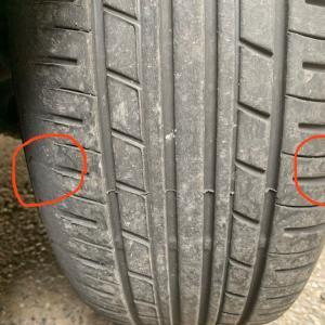 BMWのタイヤを左右、裏表を入れ替える@秋以降のサーキット走行へ向けて