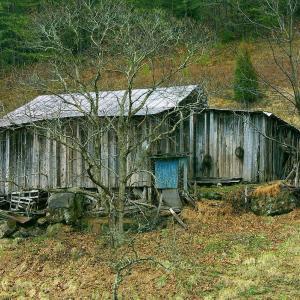 掘っ立て小屋で暮らす