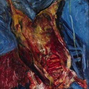 スーティンの「牛の死体」