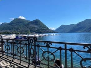 ルガノ&リギ山とコーヒー
