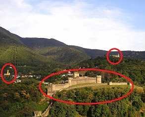 ベリンツオーナ 世界遺産の城