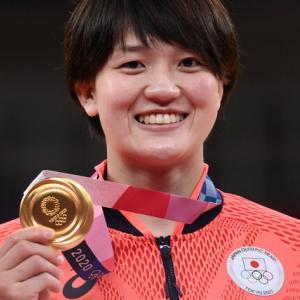 東京オリンピックで埼玉県出身の新井千鶴が柔道で金メダル