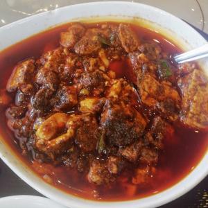 神龍陳麻婆豆腐定食