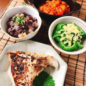 夏野菜づくしで1カ月オツサレサマ~な本日の晩酌メニュー