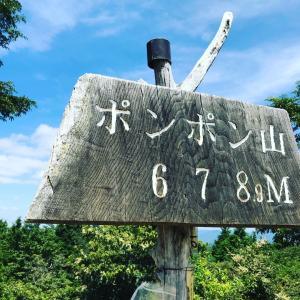 ソロ登山3回目〜ポンポン山