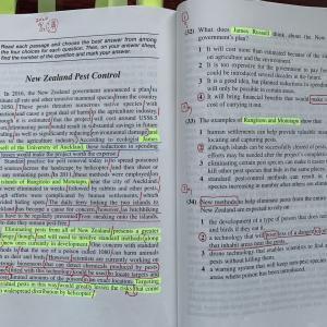 英語の読み方 スラッシュを入れながら前から理解する訓練