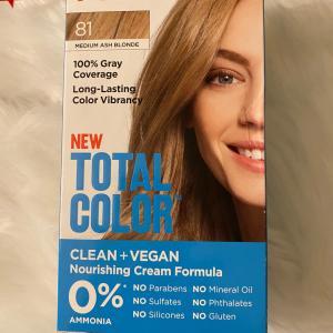 ホールフーズで陽性反応が!白髪も綺麗にブロンドに安心成分ヴィーガンヘアカラー
