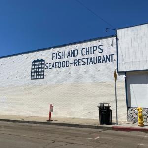 港町のフィッシュ&チップス