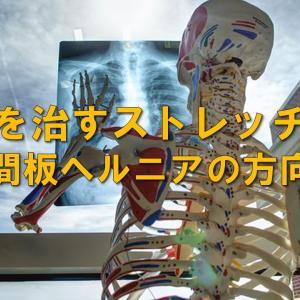 腰痛を治すストレッチ方法をお伝えします【椎間板ヘルニアの方向け】