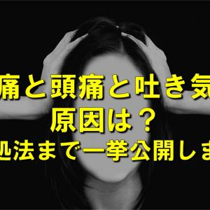 腰痛と頭痛と吐き気の原因は?【対処法まで一挙公開します】