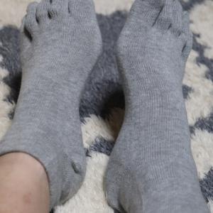無印良品の5本指靴下