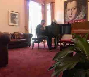 ピアノマンと👨🏻🦱🎹✨、ピアノ落第生👩🏻💦