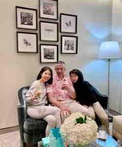 Tiffanyで家族写真👨🏻🦱👩🏻👦🏻✨
