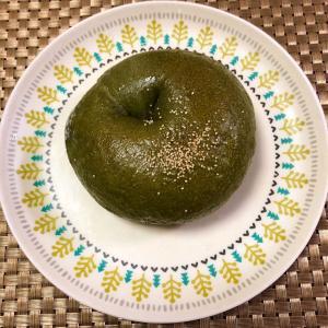 ◉Happy Bagel Megumi  ◉抹茶小倉餡クリームチーズ