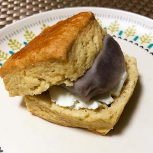 ◉azubagel  ◉北海道こしあんクリームチーズスコーン
