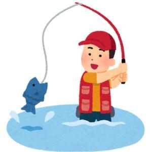 釣りの事を思っていた