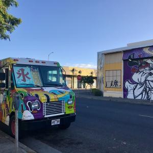 カカアコのウォールアート 友達とのハワイ観光2019 11月⑥
