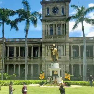 ハワイ 今日は何の日? ダウンタウン散策 ハワイ動画