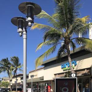 ハワイ暮らし ローカルな街 でもツアーバンが通る道