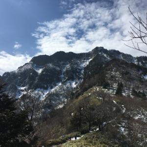 残雪の石鎚山へ!