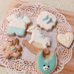 【オーダークッキー】べべちゃんクッキー。男の子編