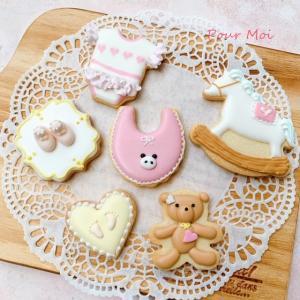 【オーダークッキー】べべちゃんクッキー。女の子編
