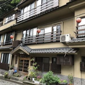 湯平温泉 旅館都屋さんに宿泊しました。