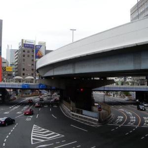 上野周辺の昭和通り