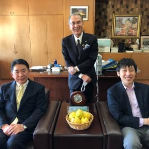 池田市長と川久保准教授