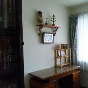 2階から大型家具を一つ出す