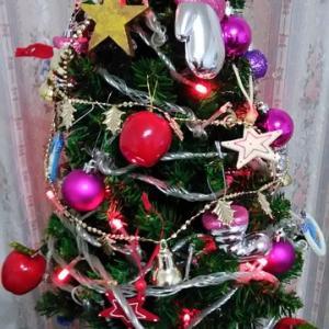無くなったクリスマスツリー(捨てたのかしら~?)