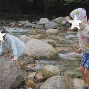 ●川遊び♪
